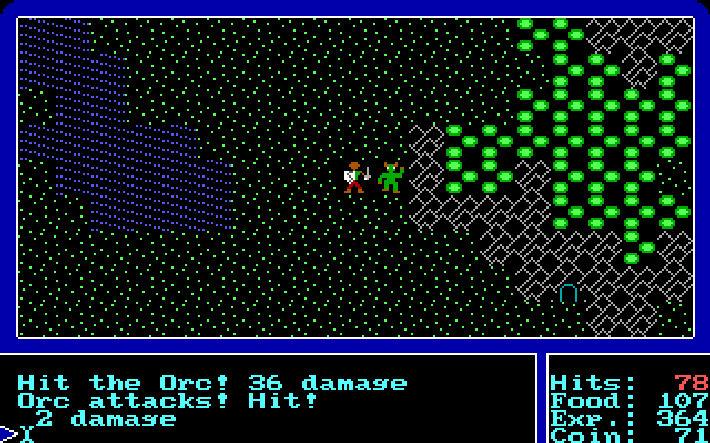 Ultima 1 screen