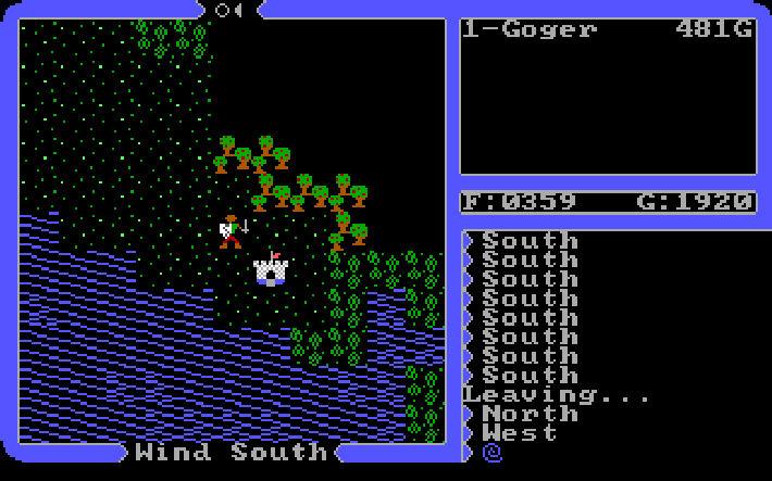 Ultima 4 screen