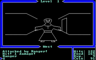 Ultima 1 dungeon