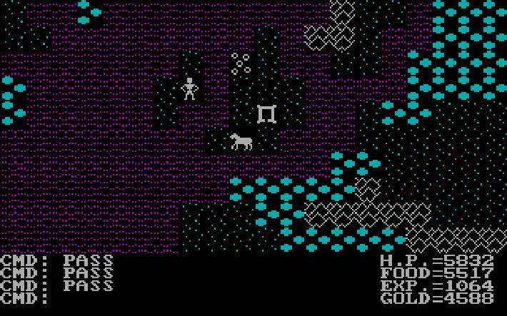 Ultima 2 screen